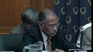 Conyers Opening Statement at Feith Torture Hearing