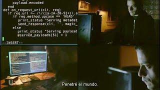 Mr. Robot Hacking scene