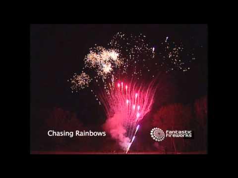 Chasing Rainbows - 400 Shot Barrage Firework