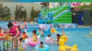 Bé trai bị đuối nước tại Công viên nước Thanh Hà