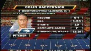 Kaepernick's First Start (part 1)