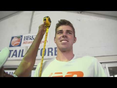 Opelka Takes Tape Test At Atlanta 2016