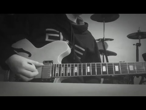 The 1975- UGH! Electric guitar cover