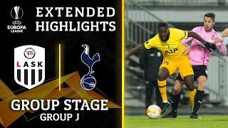 LASK vs. Tottenham: Extended Highlights   UCL on CBS Sports