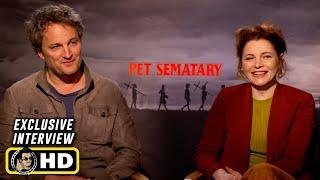 Jason Clarke and Amy Seimetz Interview for Pet Sematary