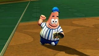 Patrick Star Saves The Perfect Game! Nicktoons MLB