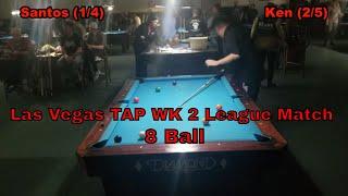 Las Vegas TAP 8 Ball Wk 2 Spring League Match 2019