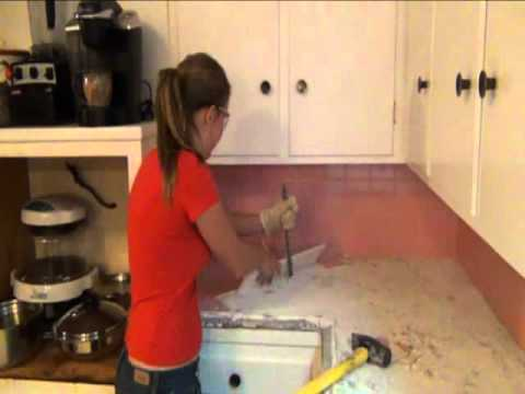 Stephanie S Step By Step Kitchen Remodel Step 1 Demo Of