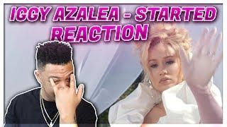 Iggy Azalea - Started (Official Music Video) Reaction Video