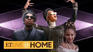 Beyonce's Black Is King CAMEOS: Blue Ivy, JAY-Z and Rumi & Sir!   ET Live @ Home