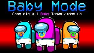 Among Us but We're BABIES! - Funny Baby Mod