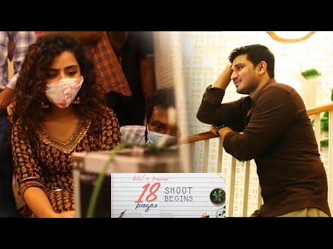 Nikhil Siddarth and Anupama '18 pages' movie shoot begins- Location video