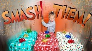 DON'T SMASH THE WRONG CHRISTMAS PRESENT!!!