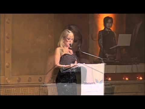 GALA 2010 RAMONA SINGER Women's Venture Fund - YouTube