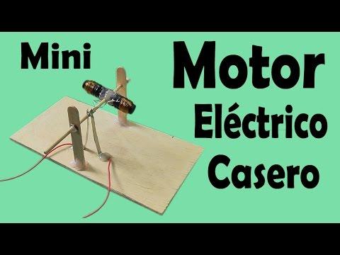 C mo hacer un motor el ctrico casero muy f cil de hacer - Mini generador electrico ...