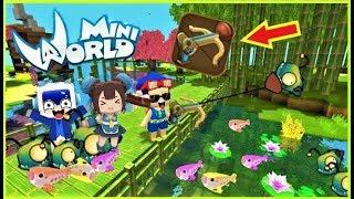 Mini World: Cuộc thi câu cá bằng hút hầm cầu ^^   Phong Cận Tv