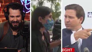 BASED DeSantis vs. The FAKE News! | Louder With Crowder