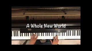 A Whole New World   Piano Cover   Disney Classics   Aladdin
