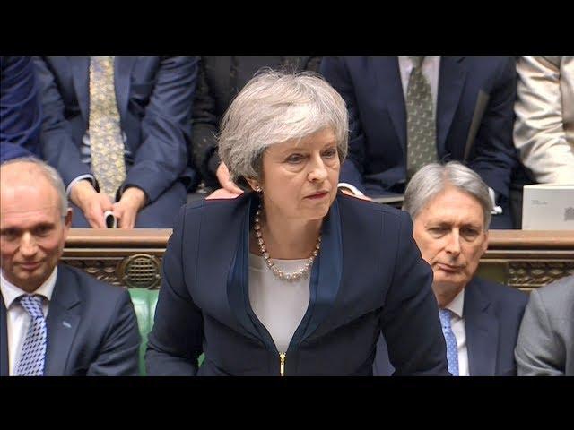 支持202票 反對432票 英國脫歐協議遭否決