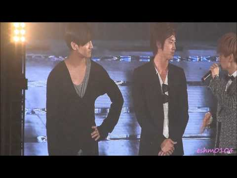[Fancam]120527 SS4 Seoul Encore 『You&I』 dance practice with TVXQ!!
