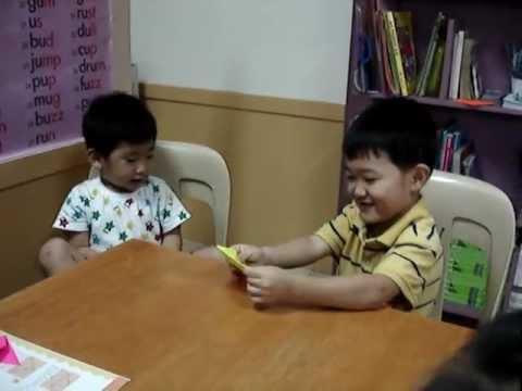 Korean Kids speaking Tagalog