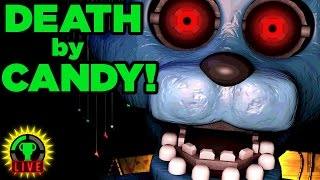 Five Nights at Candy's - SAD PUPPET IS SAD (FNAC Part 1)