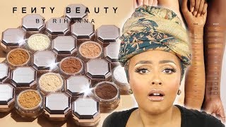 WHEW! Fenty Beauty Pro Filt'r Concealer + Setting Powder Review!