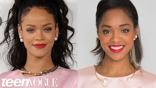 How to Get Rihanna's Bold Red Lip – Teen Vogue's Get the Look