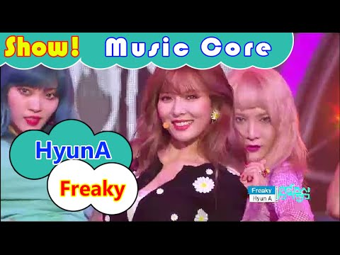 [Comeback Stage] HyunA - Freaky, 현아 - 꼬리쳐 Show Music core 20160806