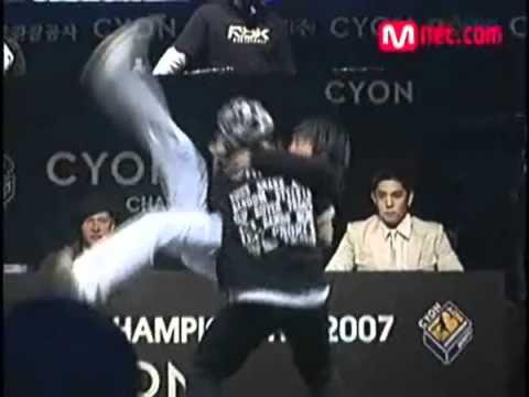 071117 B-Boy Championship (Dance Battle) - Donghae, Eunhyuk, Shindong, Sungmin