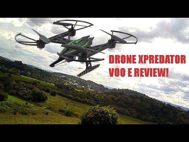 DRONE XPREDATOR GEARBEST.COM, FILMA EM HD! VOO E REVIEW