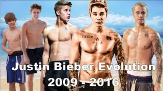Justin Bieber - Music Evolution (2009-2017)