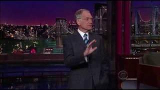 David Letterman - Basketball Cool / Not Cool  (2009-03-25)