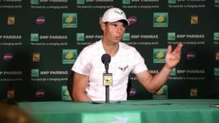 2016: Nadal Semifinal Press Conference