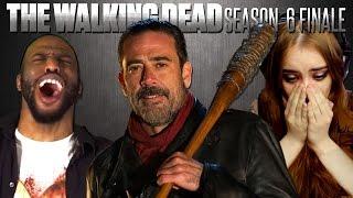 "The Walking Dead: Cliffhanger ""Last Day on Earth"" Fan Reaction Compilation"