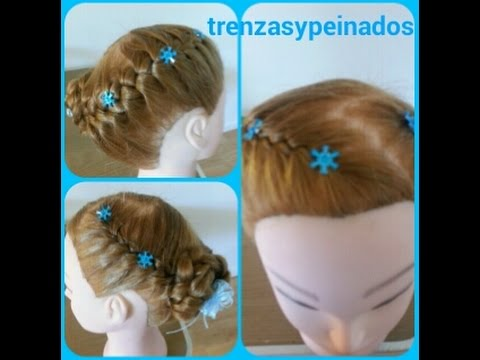 Peinado De Anna De Frozen Coronacion Peinado