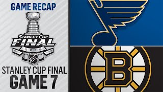 Blues prevail in Game 7, capture first Cup title