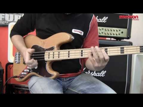 Squier By Fender Vintage Modified Jazz Bass 70 MN NT