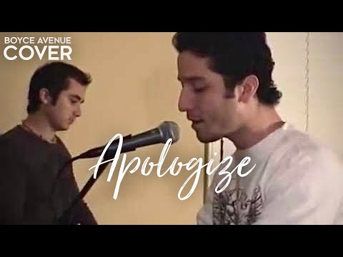 Baixar OneRepublic / Timbaland - Apologize (Boyce Avenue piano acoustic cover) on iTunes‬ & Spotify