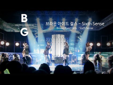 브라운 아이드 걸스(Brown Eyed Girls) - Sixth Sense (식스 센스) 교차편집 / [Stage Mix/Live Compilation] [2K/60fps]