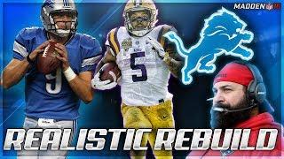 Rebuilding The Detroit Lions | Megatron 2.0 + Derrius Guice | Madden 18 Connected Franchise