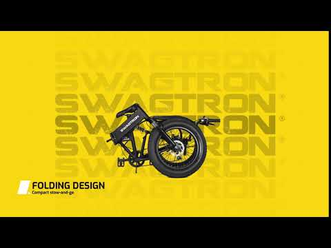 video Swagtron EB-8 Outlaw Fat Tire Electric Bike