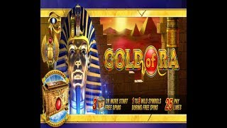 $ 6000.00, great gain in the game GOLD OF RA,free spin- Slot Machine