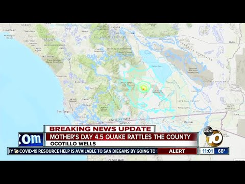 4.5 earthquake rattles San Diego