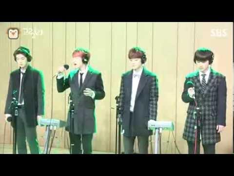 [SBS]컬투쇼, 12월의 기적, EXO 라이브