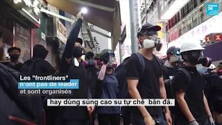 """Những người """"trên tuyến đầu"""" của biểu tình Hồng Kông"""