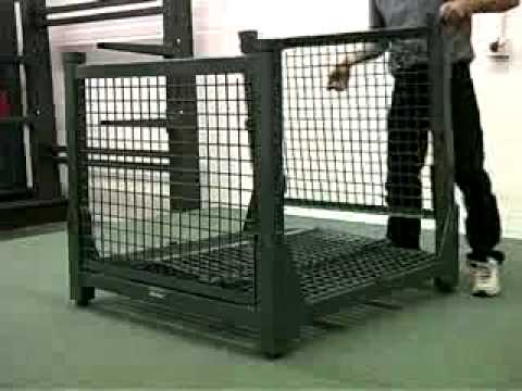 Containers, Portable Racks, and Custom Shipping Rack Products