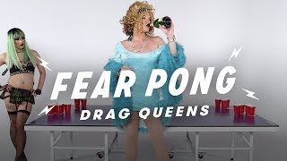 Drag Queens Play Fear Pong (Jade Dynasty vs. Mark