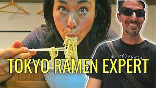 Tokyo Ramen Expert: Inside JAPANESE RAMEN SHOPS ft Ramen Adventures
