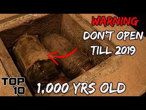 Top 10 Time Capsules That Must NOT Be Opened - Part 2